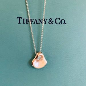 Tiffany & Co. Elsa Peretti Carved Heart Necklace